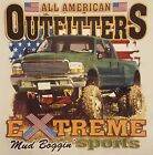 AMERICAN OUTFITTERS EXTREME BOGGIN' 4X4 MUDDIN' RACING MUD #329 POCKET SHIRT