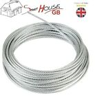 3mm Extra Strong Galvanized Steel Wire Rope Cable Rigging THE MORE THE CHEAPER