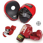 Boxing Focus Pads,Gloves,Rope,Hand Wraps Set Hook & Jabs Mitt MMA Fight Training