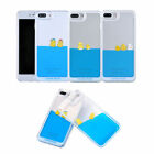 Cute Floating Duck Dynamic Liquid Soft Edge Case Cover for Apple iPhone 7 Plus