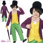 CHILD WILLY WONKA ROALD DAHL BOOK WEEK CHARACTER KIDS FANCY DRESS COSTUME OUTFIT