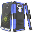 For LG G5 Phone Full-body Rugged Holster Resilient Armor Case Combo Cover Shell