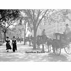 Cab Stand at Madison Square, Manhattan, New York City Circa 1900 NYC Photo Print