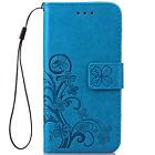 Retro Leather Wallet Cash/Card Slot Magnetic Case Cover For Samsung Galaxy S4