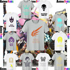 New Creative Overwatch Heros Cotton Short Sleeve T-shirt Casual Teen Tee&Top