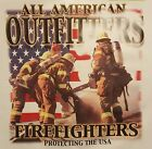 FIREFIGHTER PROTECTING THE U.S.A. FIRE #1035 POCKET SHIRT