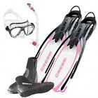 Cressi Set Reaction Ebs Pink 02UK