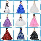 Doll Clothes Wedding Dress Evening Party Gown Clothing for Barbie Dolls K