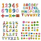 Cartoon Design Wooden Letters Numbers Refrigerator Fridge Magnets Kids Toys A