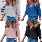 Fashion Women Long Sleeve Shirt Casual Cotton Blouse Loose Cotton Tops Blouse