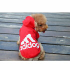 Cute Pet Clothes Dog Puppy Warm Sweater Hoodie Winter Coat Jacket Costume Adidog