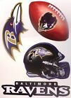 32 NFL TEAMS Set of 4 Team Logo FATHEAD Style Vinyl Wall Graphics - PICK TEAM