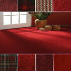 Quality Red Carpets - Cheap Rolls - Brand New Carpet - Loop, Twist, Saxony Piles