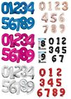 "Numeral Foil Balloons (34"") 3 Glitz Colours (All Ages) Helium Quality {Unique}"