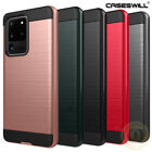 For Samsung Galaxy J7 Prime / On7 (2016) Phone Case Brushed Texture Armor Cover