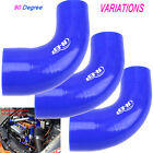 Car Turbo Cold Air Intake Inlet Injection System Pipe Duct Hose Tube Silicone