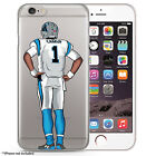 CAMVP cam newton Football Case for all iPhones, Hand Drawn Illustration
