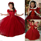 Frozen Elsa Anna Kids Girls Dresses Costume Princess Party-Fancy+Dress 【Cape】""