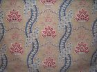 """Laura Ashley """"Portico"""" floral novelty fabric by the yard multiple colors"""