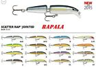 RAPALA  SCATTER RAP JOINTED, SCRJ 09, NEW,  CHOICE OF COLORS