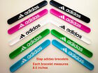 Slap 3D Adidas Sports Silicone Bracelets  8.5''   can fit every one