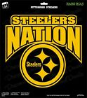 Pittsburgh Steelers Nation NFL Football Champs Gold Vinyl Decal Car Window $12.99 USD on eBay