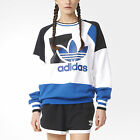 ADIDAS Originals Womens Running Baggy Archive Trefoil Logo Sweater UK 10 S