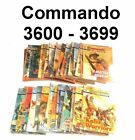 Commando Picture Library - #3600 ~ #3699 - CHOOSE YOUR COMIC - Pick Yours Here