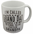 Im Called Grandad Design Coffee Tea Mug Gift Novelty Mug Present Boxed