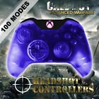 Xbox One/S Clear Blue With Pink LED Rapid Fire Paddle Controller BF1-IW-GOW4