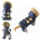 Pet Small Dog Puppy Hoodie Coat Jacket Warm Apparel Thicken Clothes Costume New