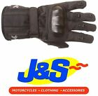 FRANK THOMAS PACIFIC A 18-16 TEXTILE MOTORCYCLE GLOVES BLACK MOTORBIKE J&S