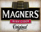 MAGNERS CIDER VINTAGE ALCOHOL ADVERTISING METAL SIGN TIN POSTER PLAQUE
