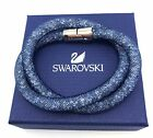 Swarovski Stardust Double Bracelet Necklace Many Colours Available S 38cm M 40cm