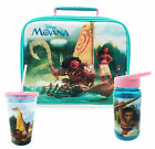 Disney MOANA Official - Lunch BAG/BOTTLE/CUP (School/Home) Gift/Girls/Food/Drink