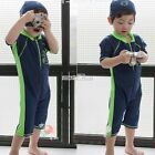 Boy's Kid's Floatsuit One Piece Rashie Swimsuit Wetsuit Surf Swim Spring Suit