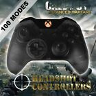 Xbox One/S Clear Black With Orange LED Rapid Fire Paddle Controller BF1-IW-GOW4