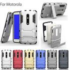 Robot Defender Motorola MOTO G2 Back Case cover + KickStand + Dual Shield