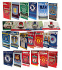 OFFICIAL FOOTBALL CLUB - BIRTHDAY CARDS (Crest, Badge, No.1 Fan, Pop Up)