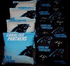 CAROLINA PANTHERS 8 CORNHOLE BEAN BAGS BAGGO GAME Top Quality Handmade! NEW! on eBay