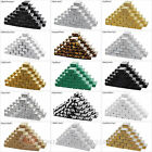 """50 Cardboard Cotton Filled Jewelry Gift Boxes Paper 1 7/8"""" x 1 1/4"""" x 5/8""""H"""