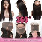 7A 360 Lace Frontal Closure wave 100% Virgin Brazilian Human Hair Lace Band BS28