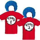 CHILDRENS KIDS BOYS GIRLS THING 1 2 BOOK WEEK DAY FANCY DRESS COSTUME 7-11 YEARS