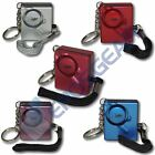 Mini Minder Loud Keyring Personal Panic Rape Attack Safety Security Alarm 140db