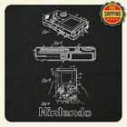 COOL Nintendo Gameboy VINTAGE Patent Drawing T-Shirt - FAST FREE SHIPPING!
