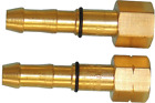 "Premium Hose Check Valve - 3/8"" and 1/4"" BSP Thread - Oxygen & Acetylene"