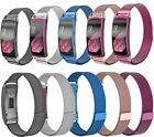 Magnetic Milanese Loop Metal Watch Band Wrist Strap For Samsung Galaxy Gear fit2