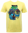 Authentic YES Tour '77 Slim-Fit T-Shirt Yellow S M L XL 2XL NEW