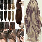 8Pcs Long Full Head Clip in Hair Extensions Real Synthetic hair Extentions sn19