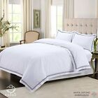 Luxury Embroidered Complete Bedding Set – Duvet Cover, Fitted Sheet, Pillow Case